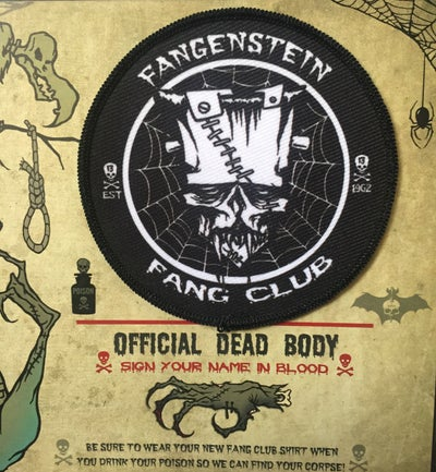 Image of FANGENSTEIN FANG CLUB PATCH