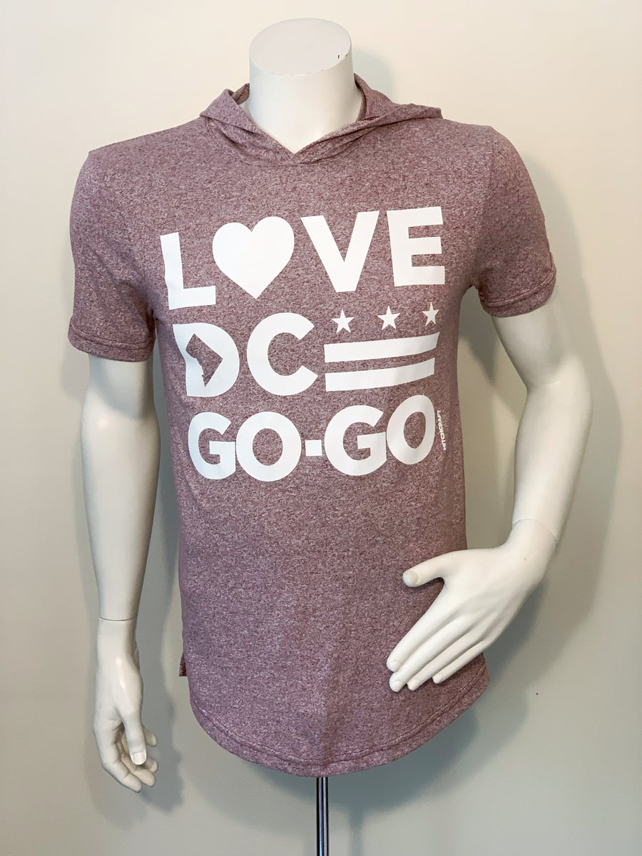 "Image of Love DC Go-Go - ""Perry"" Hooded T-shirt"