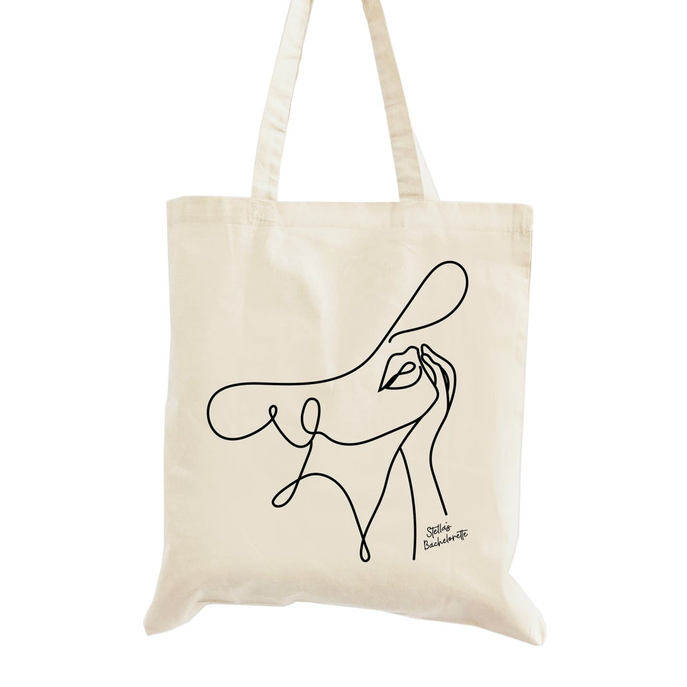 Image of Chic Bachelorette Tote Bag