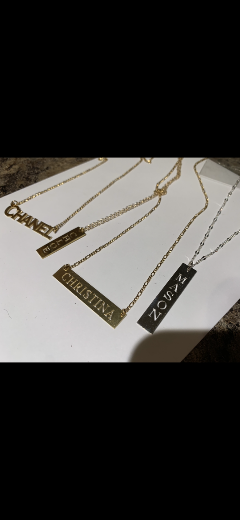 Image of Chanel, Mason, Chloe, Christina are available below! Lovemuseplaques.com if u want ur name!