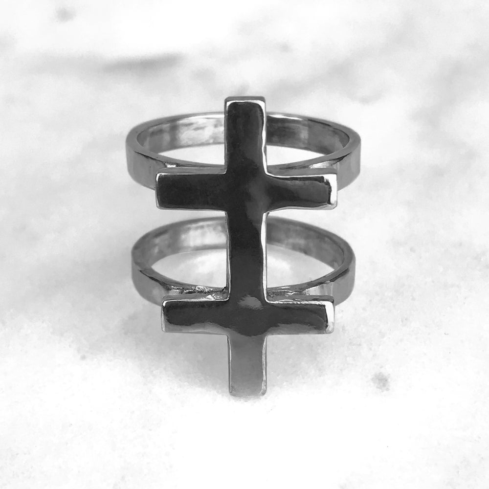 Image of Conjoined Cross Ring