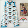 Kids Sleeveless Shortie Romper