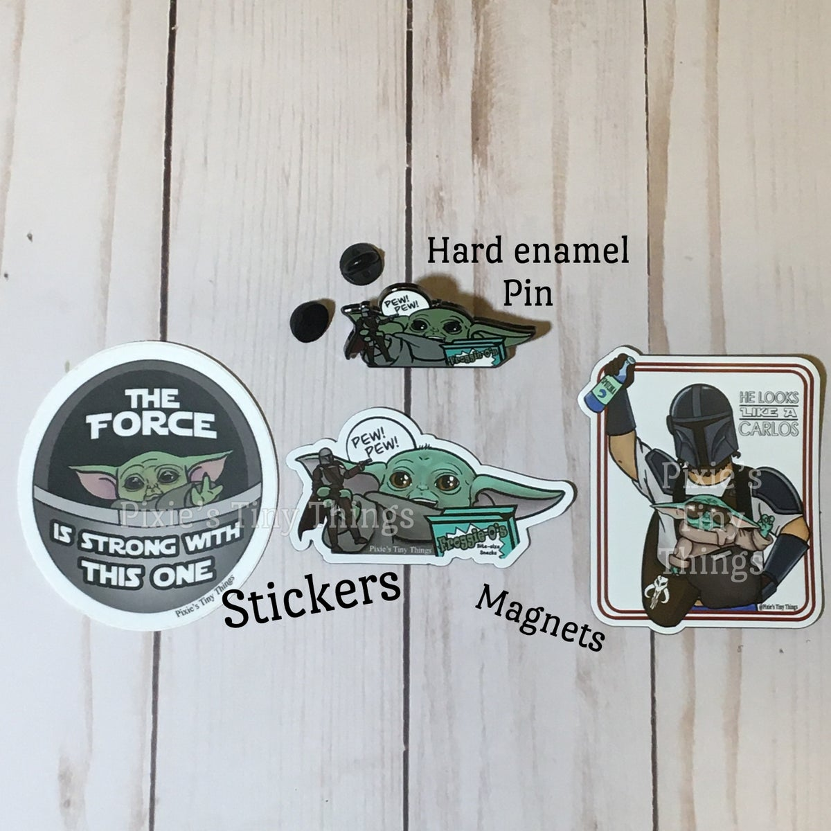 Image of The Child Stickers, Patches and Magnets