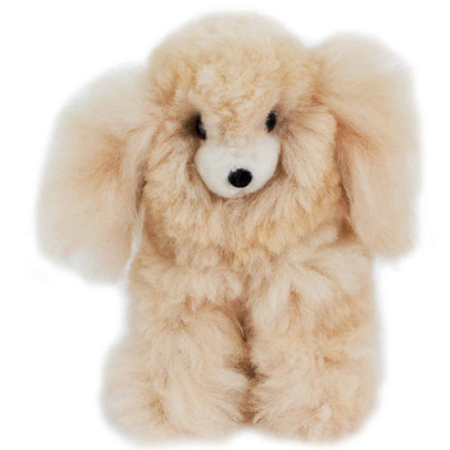 Image of Large STUFFED ALPACA Dog