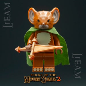 Image of Lieam - MOUSE GUARD Custom Minifigure