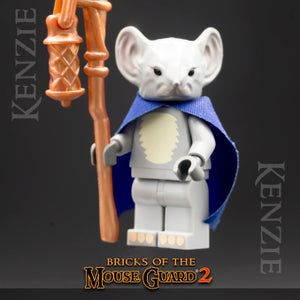 Image of Kenzie - MOUSE GUARD Custom Minifigure