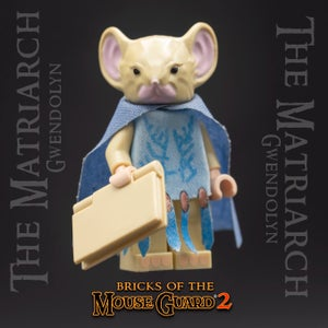 Image of The Matriarch - MOUSE GUARD Custom Minifigure
