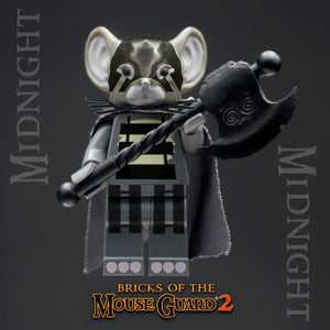 Image of Bricks of the Mouse Guard 2 - MIDNIGHT - Just a FEW LEFT!