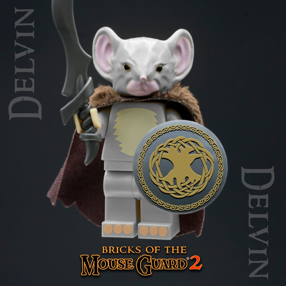 Image of Bricks of the Mouse Guard 2 - DELVIN - SOLD OUT!