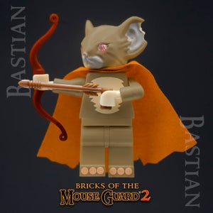 Image of Bricks of the Mouse Guard 2 - BASTIAN - Just a FEW LEFT!