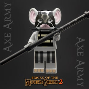 Image of Bricks of the Mouse Guard 2 - AXE ARMY - SOLD OUT!