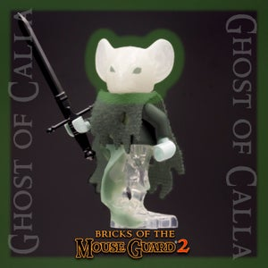 Image of Bricks of the Mouse Guard 2 - GHOST of CALLA - Just a FEW LEFT!