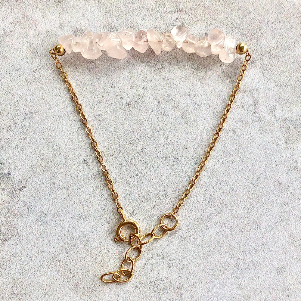 Image of Rose Quartz Bracelet