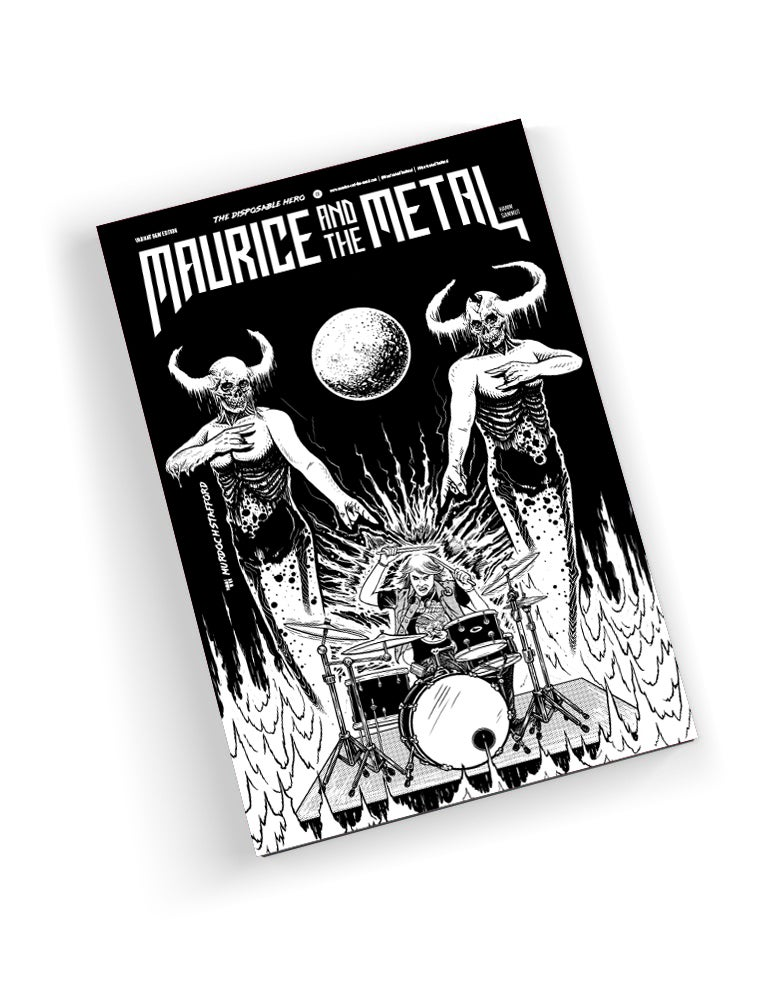 Image of MURDOCH STAFFORD - COMIC & SHIRT - BUNDLE