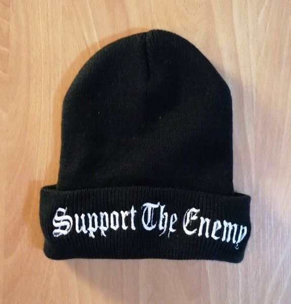 "Image of Shining ""Support The Enemy"" Old-School Beanie"