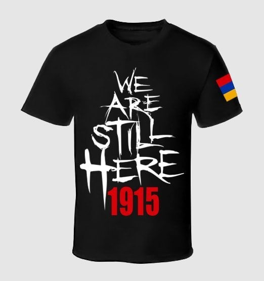 Image of Open Wounds 1915 - We Are Still Here Tee