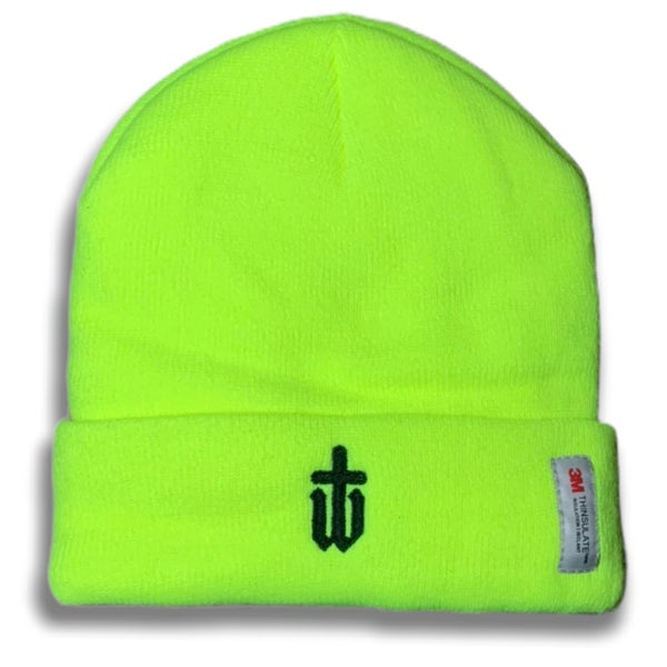 Image of NEON THINSULATE BEANIE