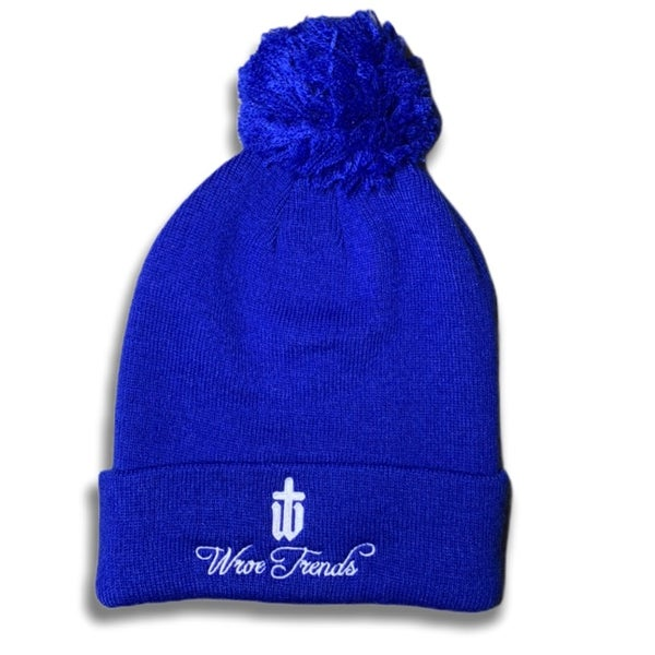 Image of ROYAL BOBBLE HAT