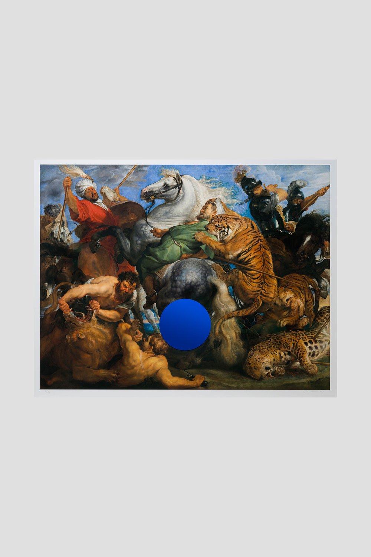 Image of Jeff Koons - Gazing Ball (Rubens Tiger Hunt)