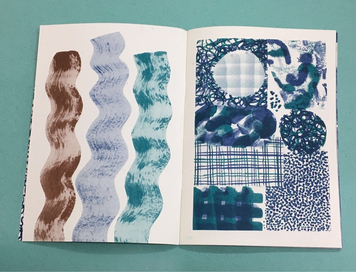Image of COLLAGE BOOK / riso