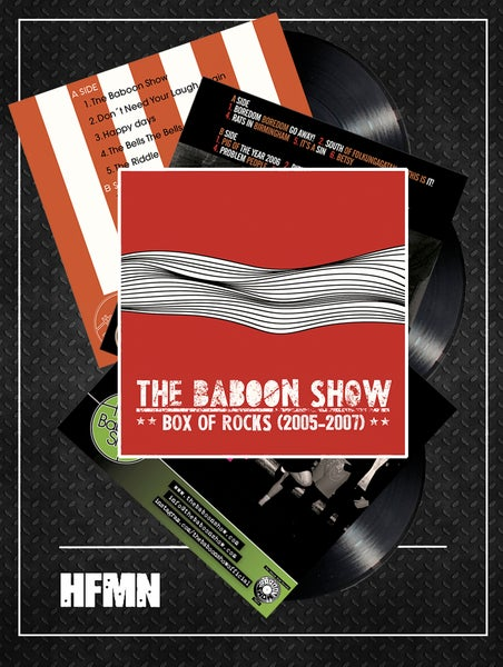 Image of THE BABOON SHOW - BOX OF ROCKS (2005-2007)