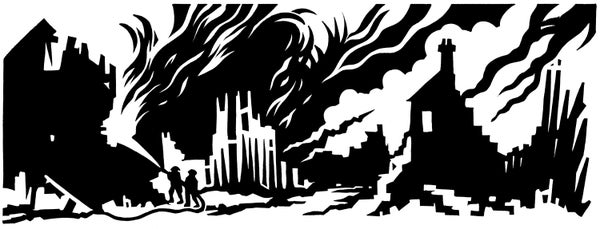 Image of Poetry Print - The Blitz