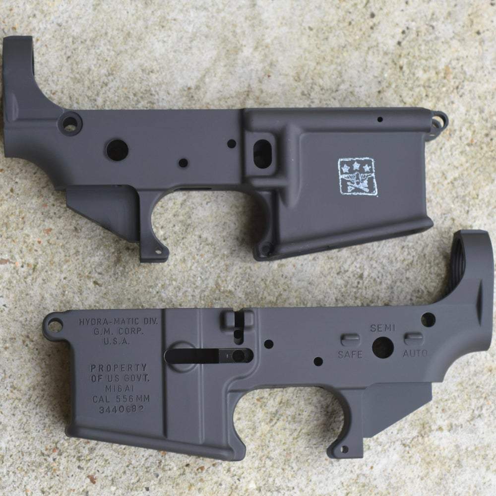 Image of Not Available Online - (Sold Out Until July 2020) 100% M16A1 - GM or HR - XM Grey Lower
