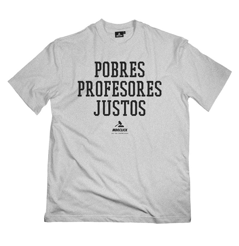 POBRES PROFESORES JUSTOS