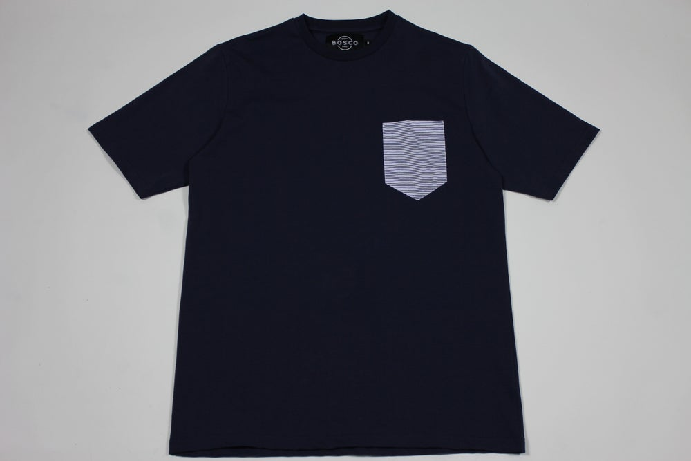 Image of       BOSCO PARIS 'classic pocket T-shirt'