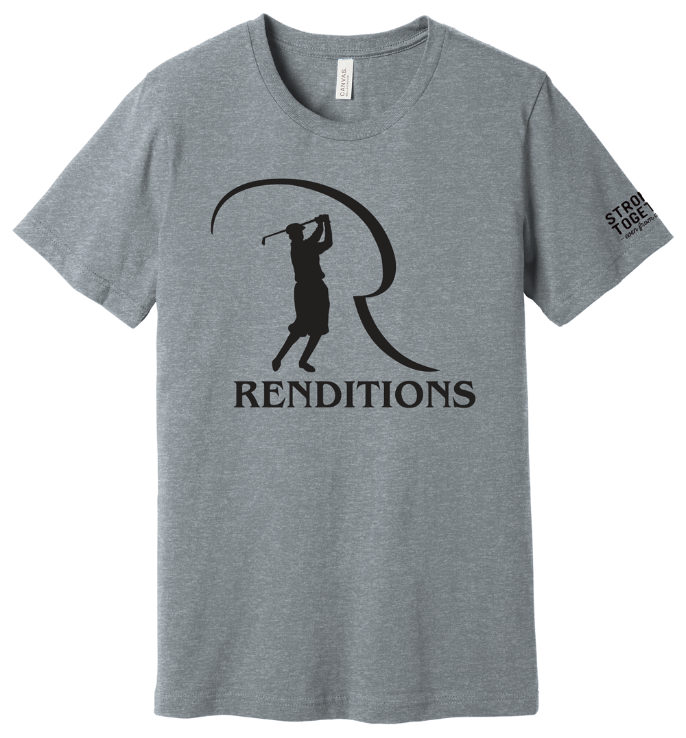 """Renditions Golf """"Stronger Together"""" Tee"""