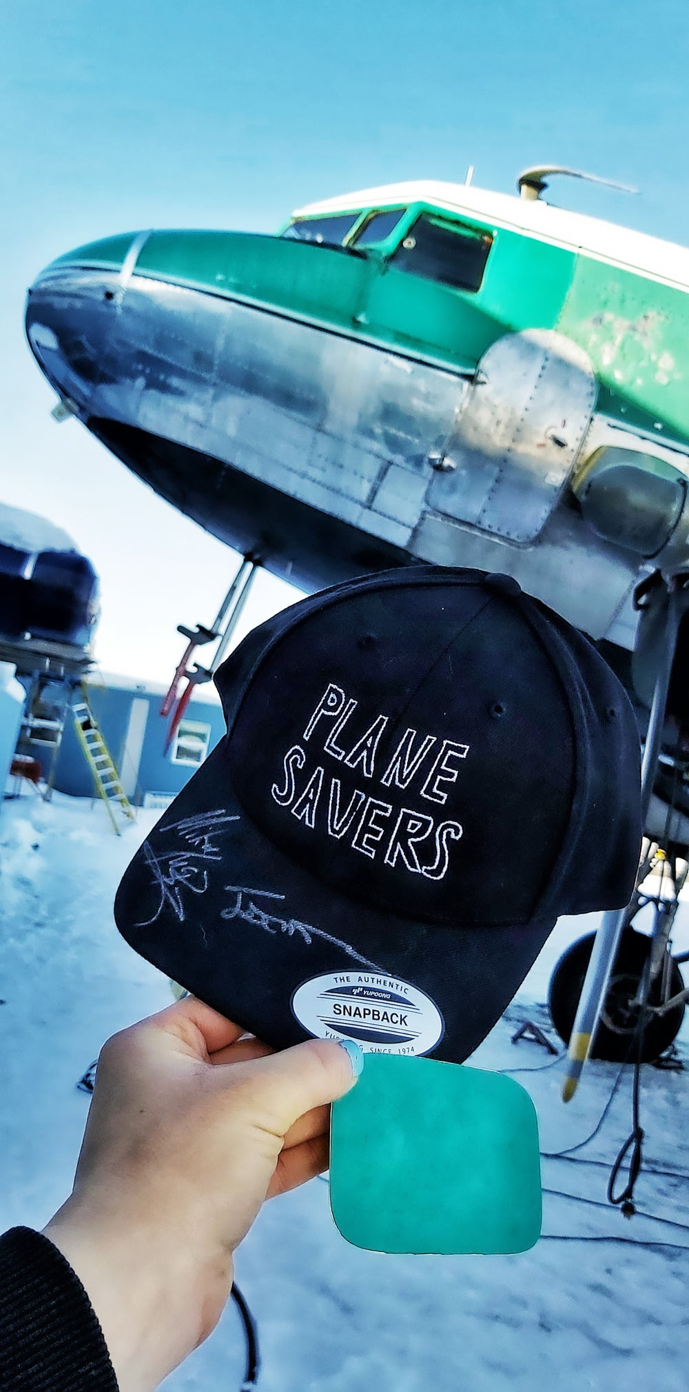 Image of Plane Savers Tag Package