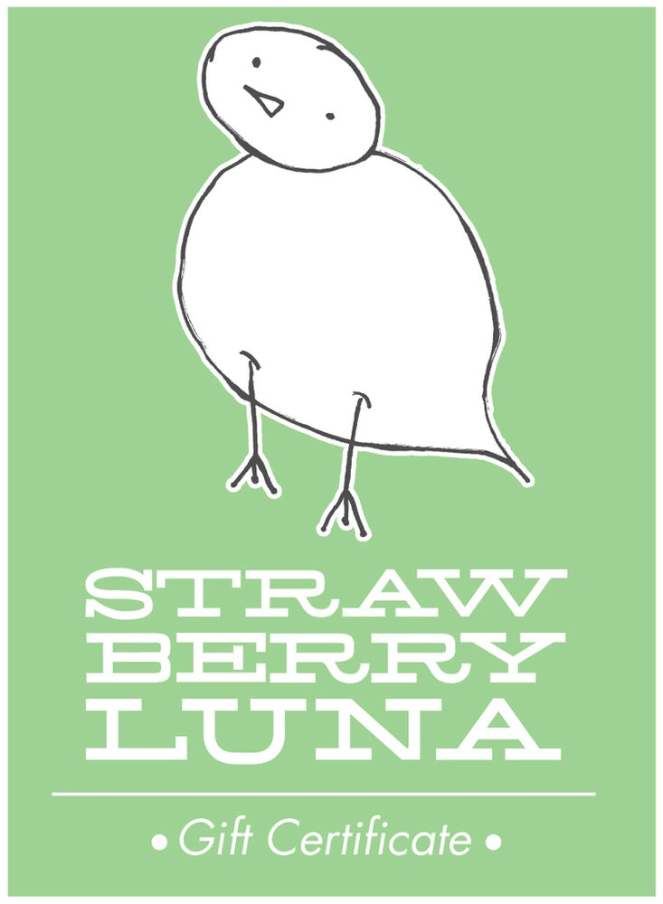 Image of strawberryluna Gift Certificate