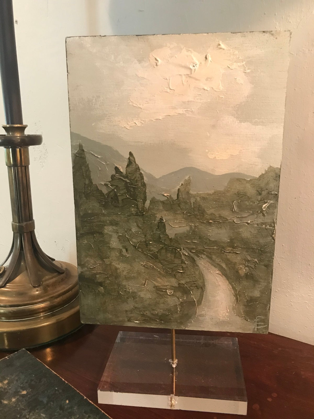 Image of MEDIUM LANDSCAPE ON ACRYLIC