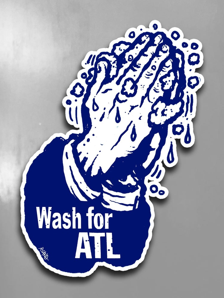 Image of Limited Edition Wash for ATL Wall Art