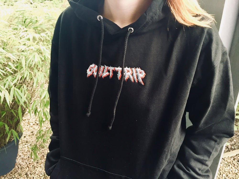 Image of Embroidered Logo Hoodie