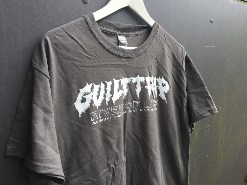 Image of River Of Lies T-shirt (charcoal)