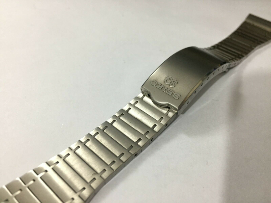 Image of GENUINE Seiko SQ Gents Stainless Steel Watch STRAP.0634 5009,Clean