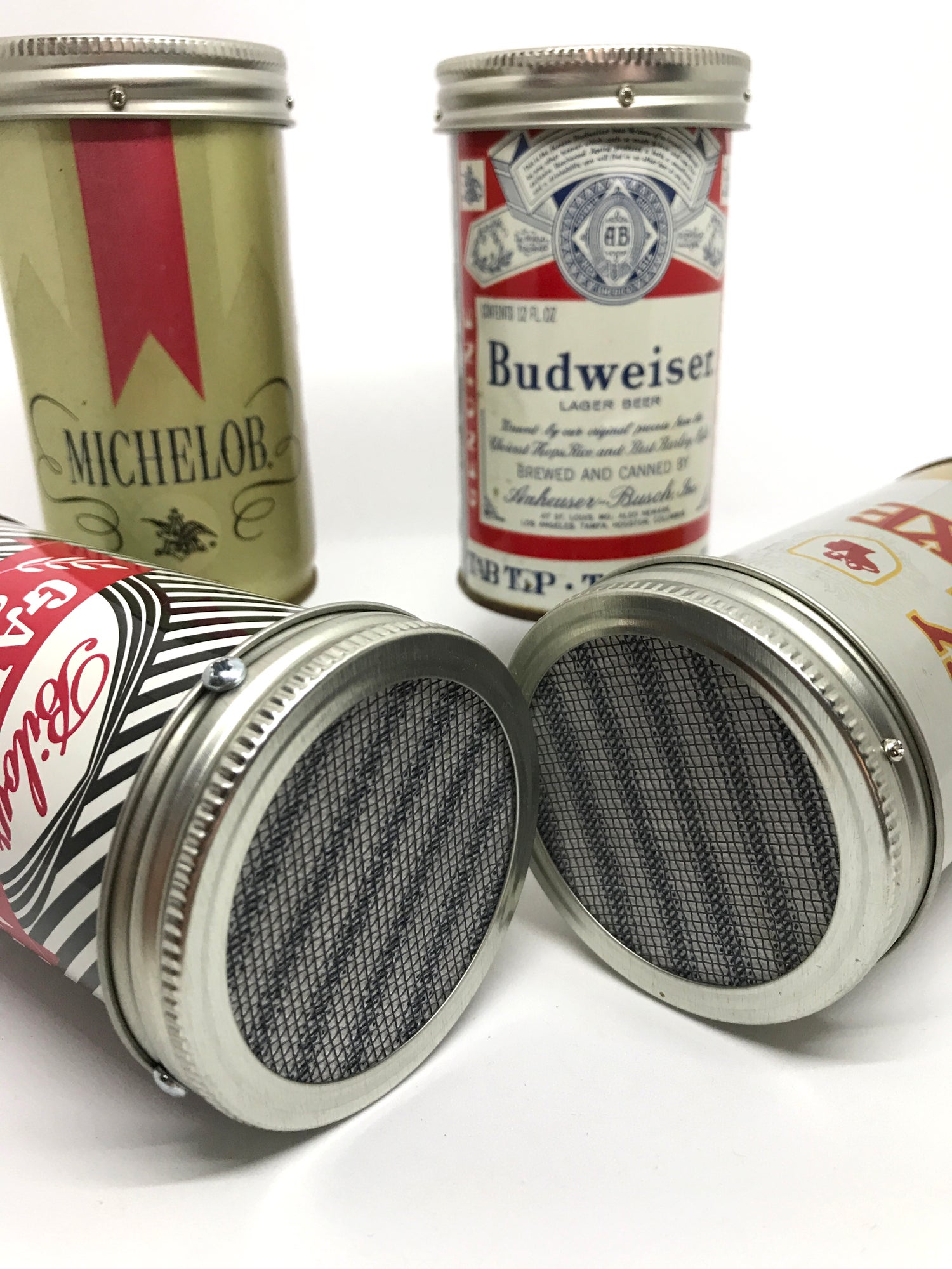 Image of Rust-o-Phonic Microphone (real beer can!) AM radio tones
