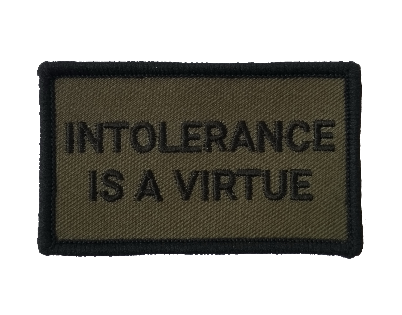 Image of Intolerance is a Virtue