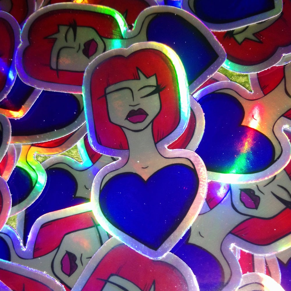 Image of Lil Love(d) One Holographic Sticker