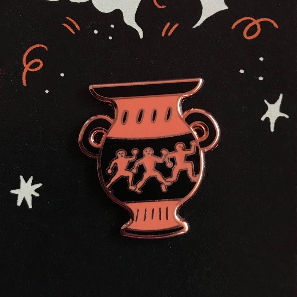 Image of magic amphora enamel pin