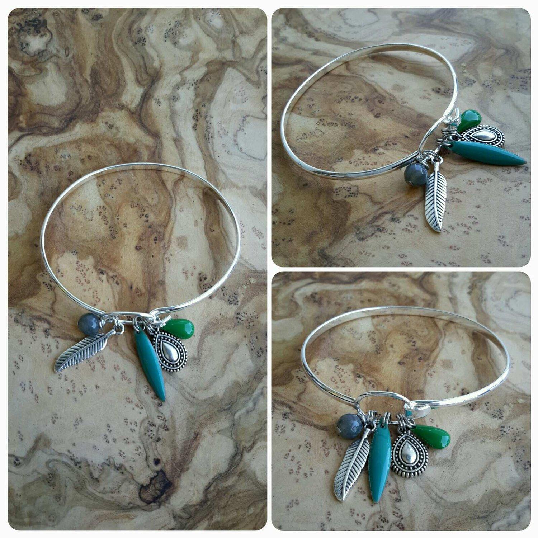 Image of Bracelet plume