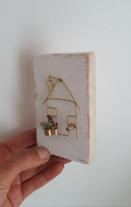 Image of Mini brass house