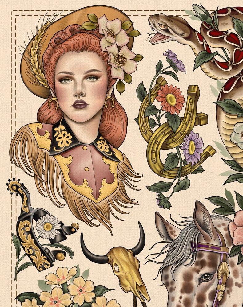 Image of Western Dreams Print