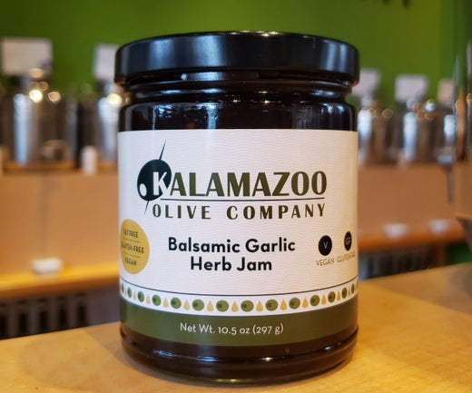 Balsamic, Garlic and Herb Gourmet Jam - our very own!