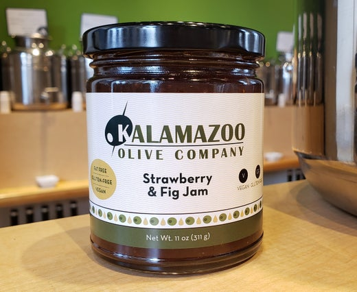 Strawberry and Fig Gourmet Jam - our very own!