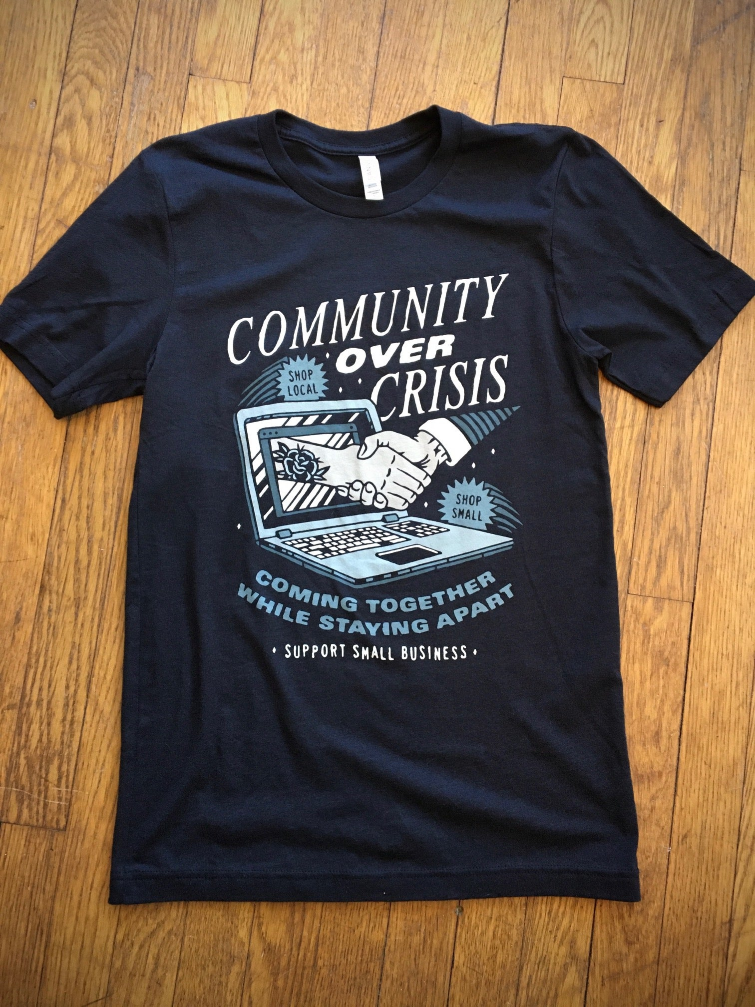 Image of Community Over Crisis Tee