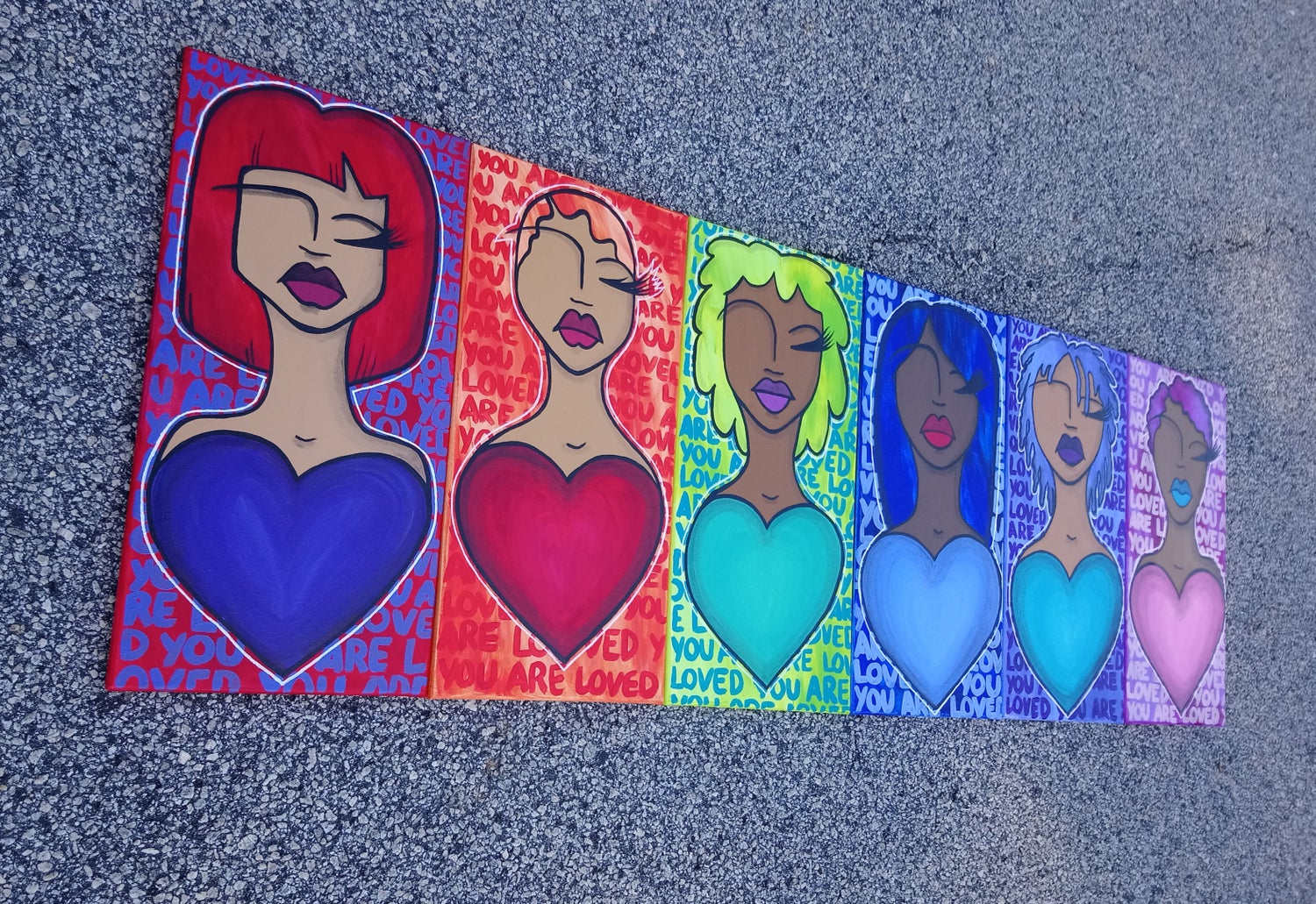 Image of Lil Love(d) Ones Paintings