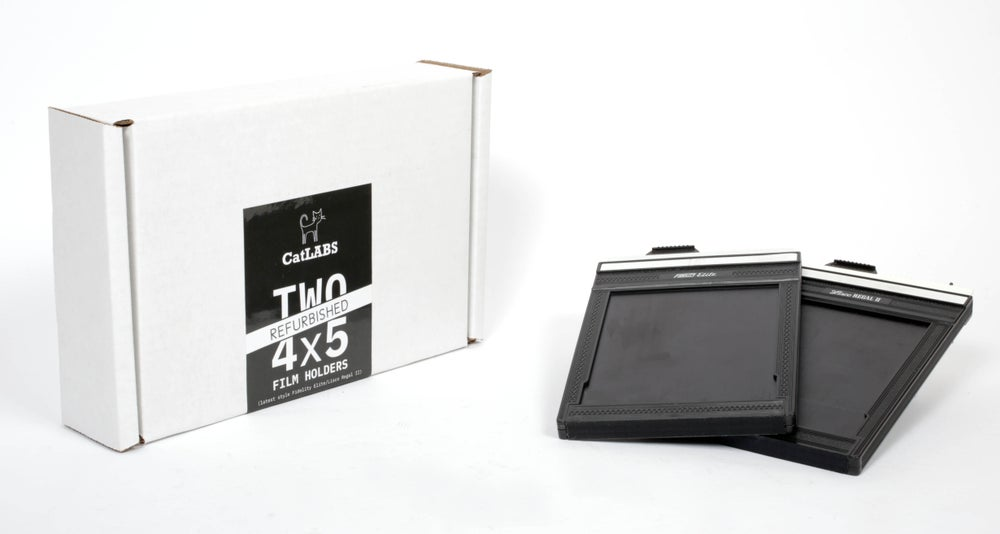 Image of CatLABS Refurbished 4x5 Film Holders - 2 pack