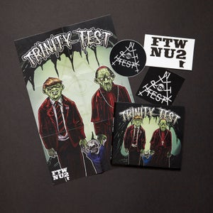 Image of RECORD STORE DAY BONUS BUNDLE! TRINITY TEST cd ep + cd LP = $10!